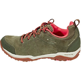 Columbia Fire Venture Low Waterproof Shoes Damen nori/corange
